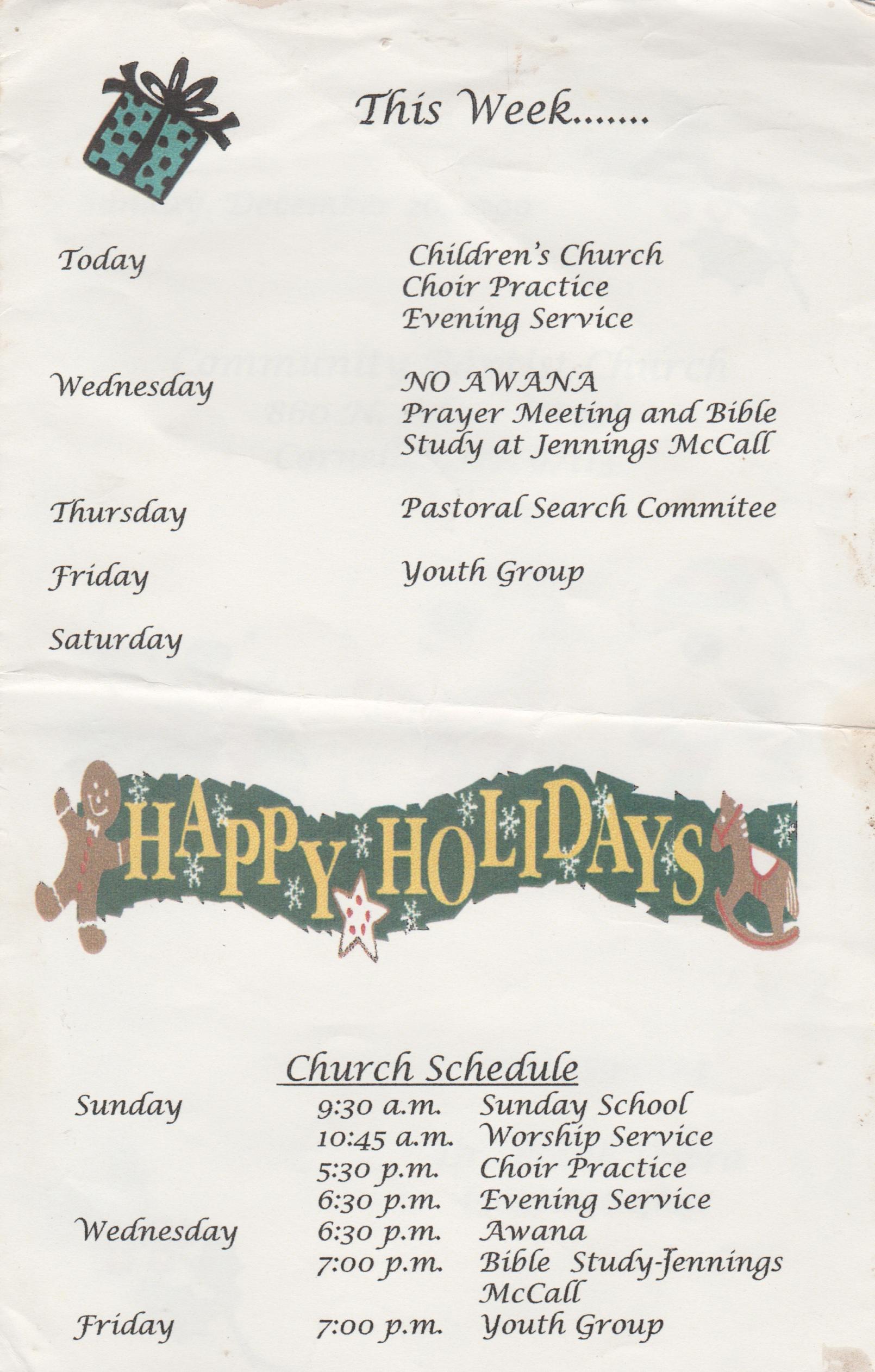 1999-12-26 - Sunday - Youth Sunday - Christmas - CCBC-3.jpg
