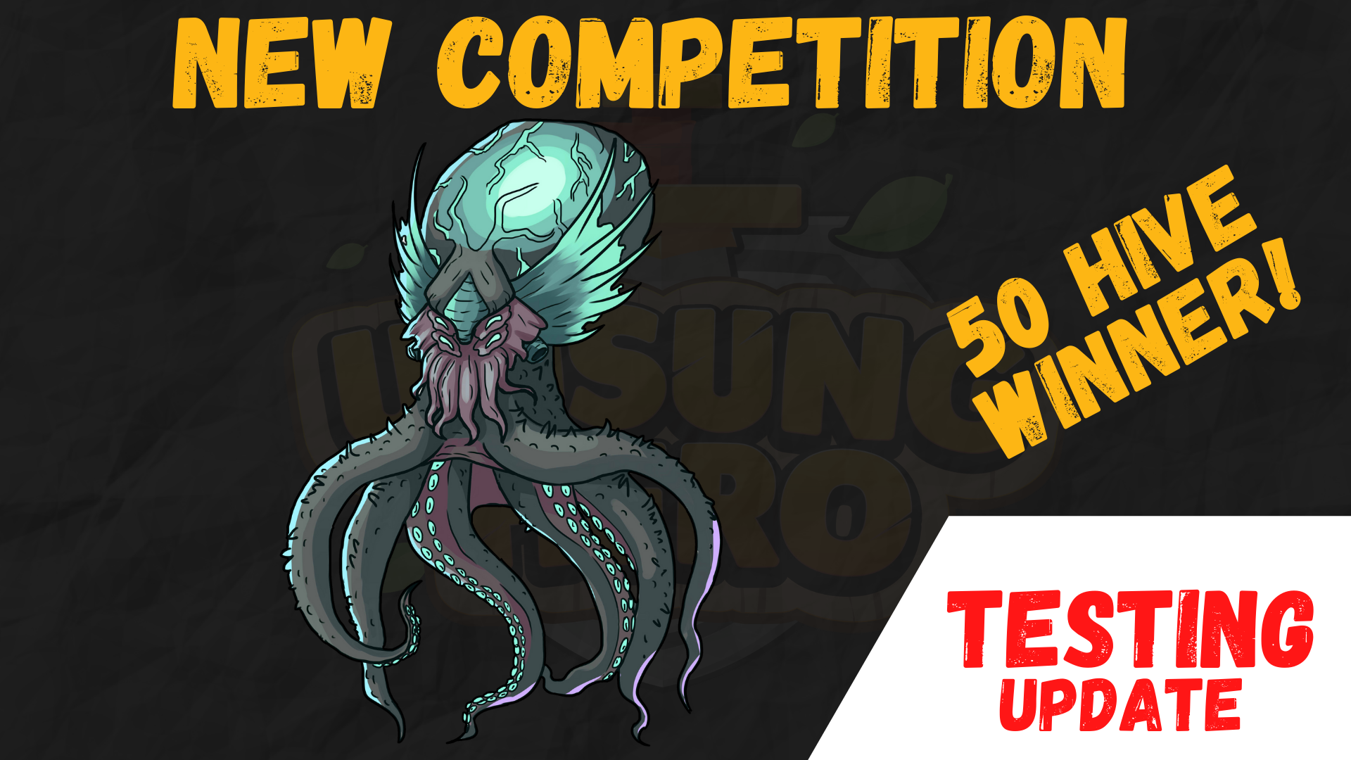 Winners! | Competition #10 | Area/Monster Design | 50 HIVE Prize! | TESTING UPDATE