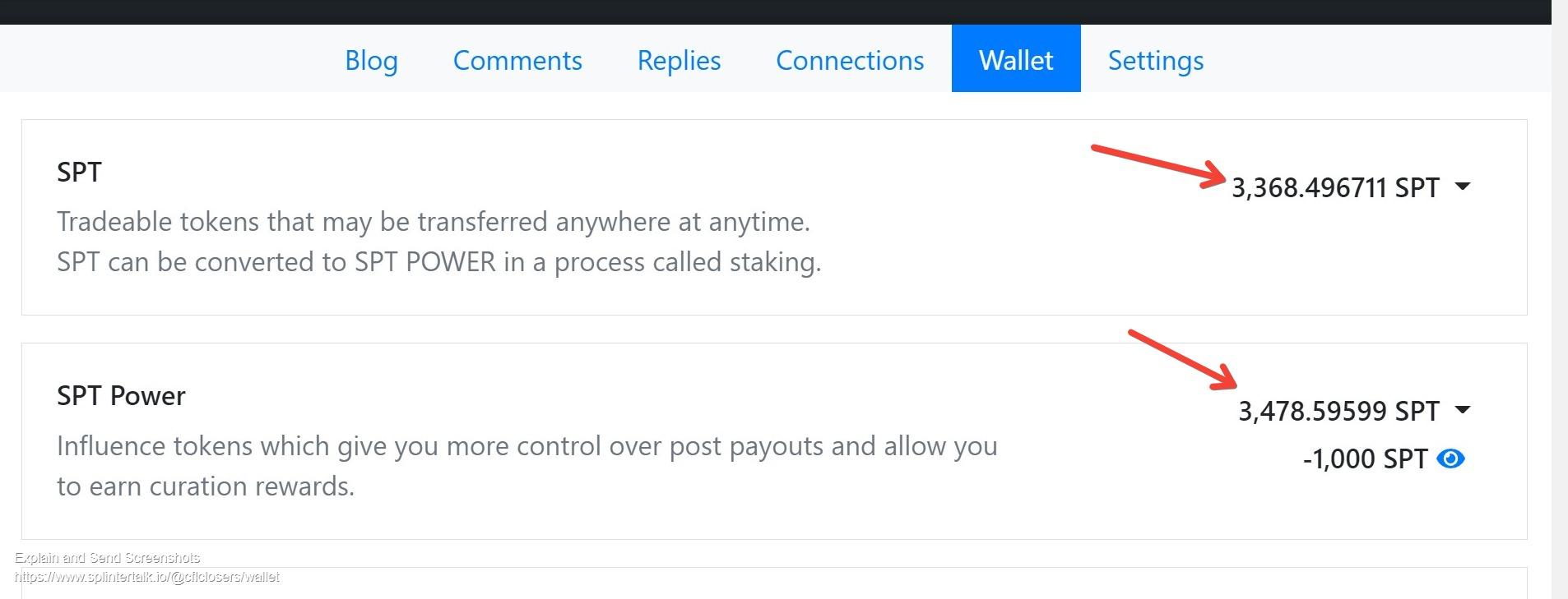 Screenshot of Wallet of Cflclosers cflclosers  Splintertalk 1.jpg