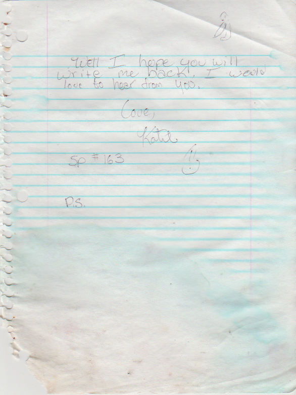 1996-07-25 - Thursday - Katie Arnold to Nick, mentions Sarah Ford, other things, plus letter to Diann regarding drug rehab agreement-3.png