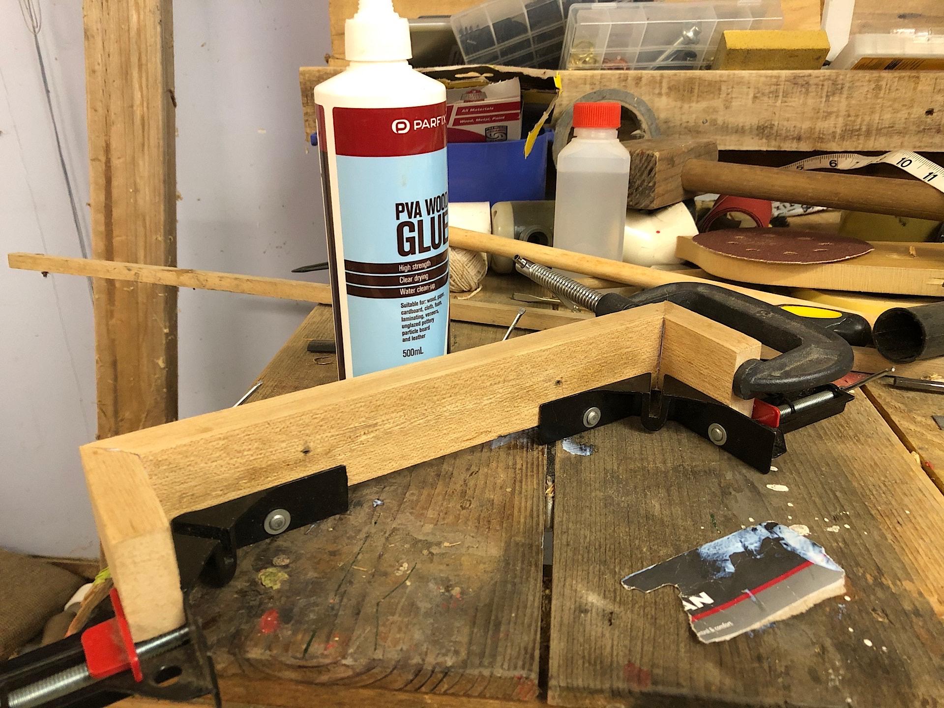 Building a wooden organiser box