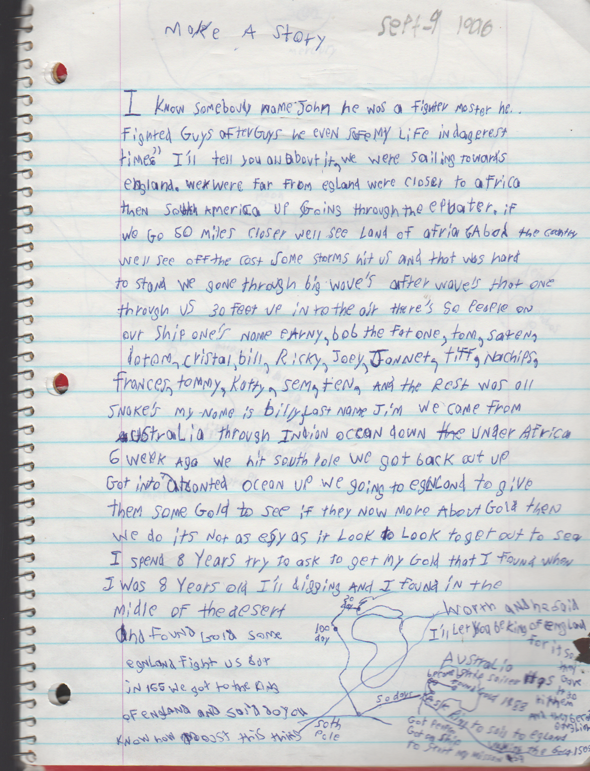 1996-08-18 - Saturday - 11 yr old Joey Arnold's School Book, dates through to 1998 apx, mostly 96, Writings, Drawings, Etc-092.png