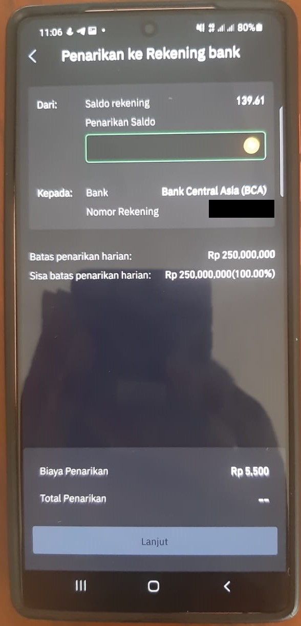 tokocrypto withdraw to bni
