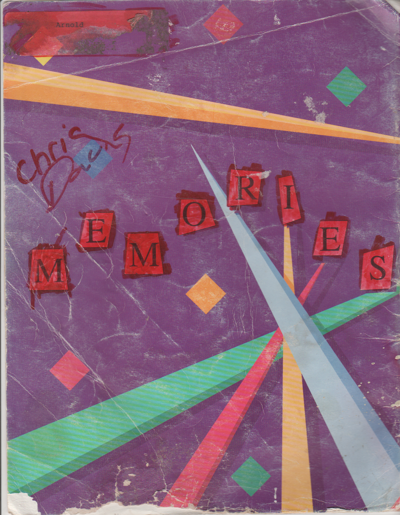 1994-06 - Katie Arnold, Neil Armstrong Memories Yearbook Cover, Signatures, Messages From Classmates-4.png