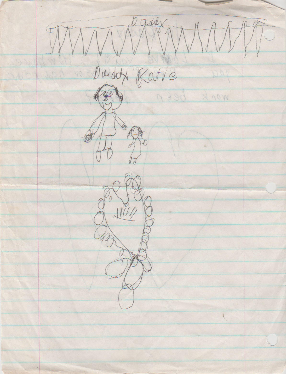 1980s - Katie Arnold Letter to Father Don Arnold, 1988 maybe-2.png