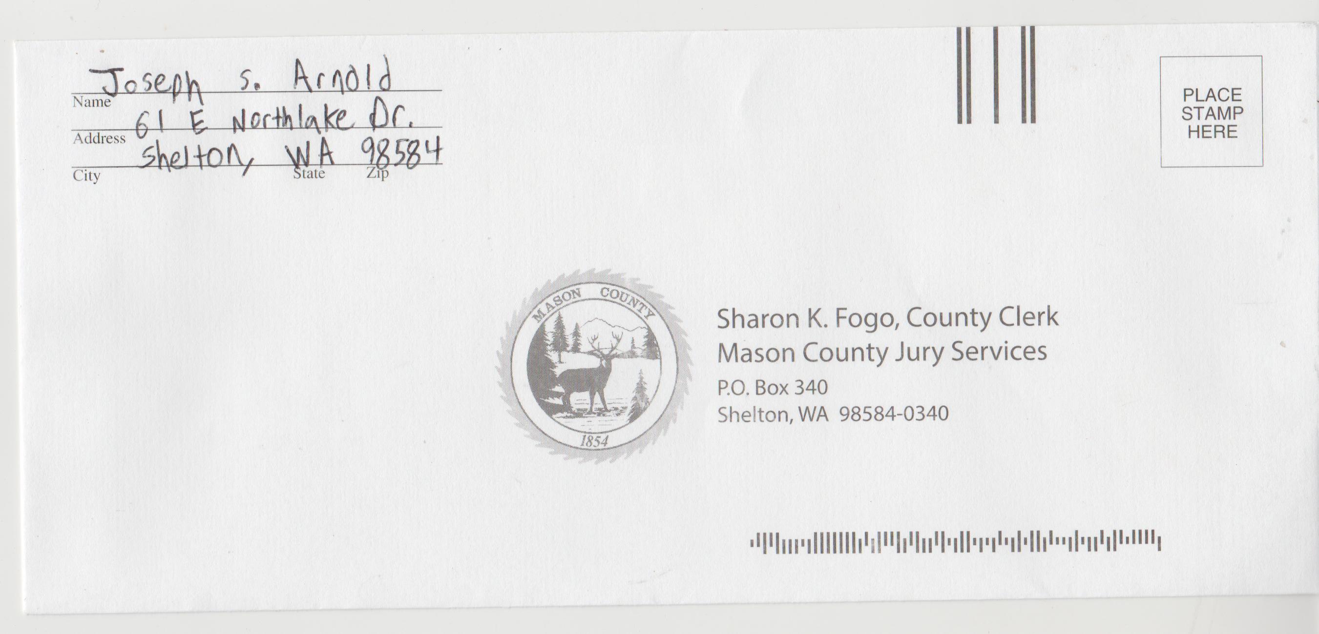 2020-11-07 - Saturday - 03:00 PM LMS JA - Jury Duty Request - Shelton WA - Return Envelope ok.png