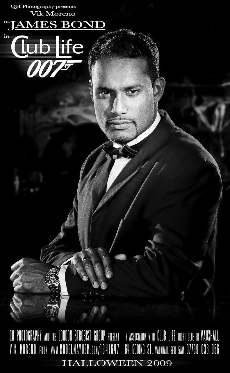 Vik Moreno as James Bond