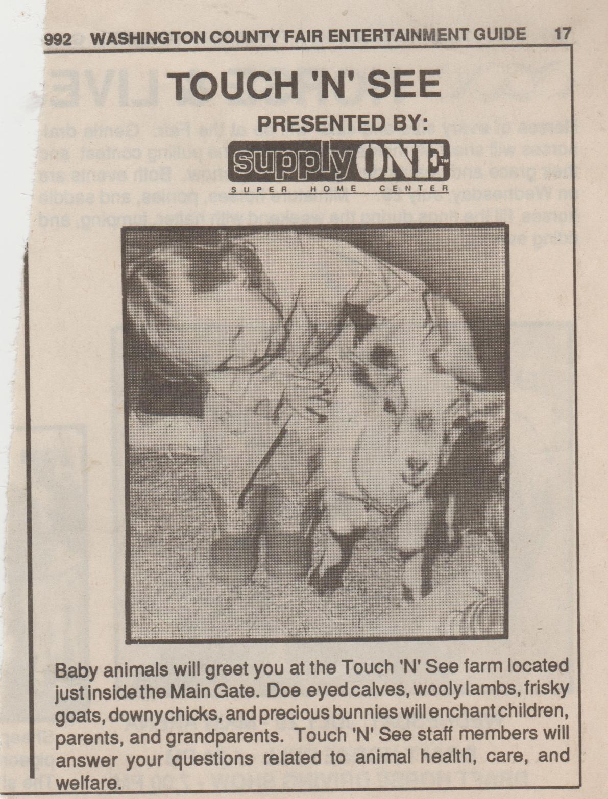 1992-08 apx - Touch N See - Washington County Fair.jpg