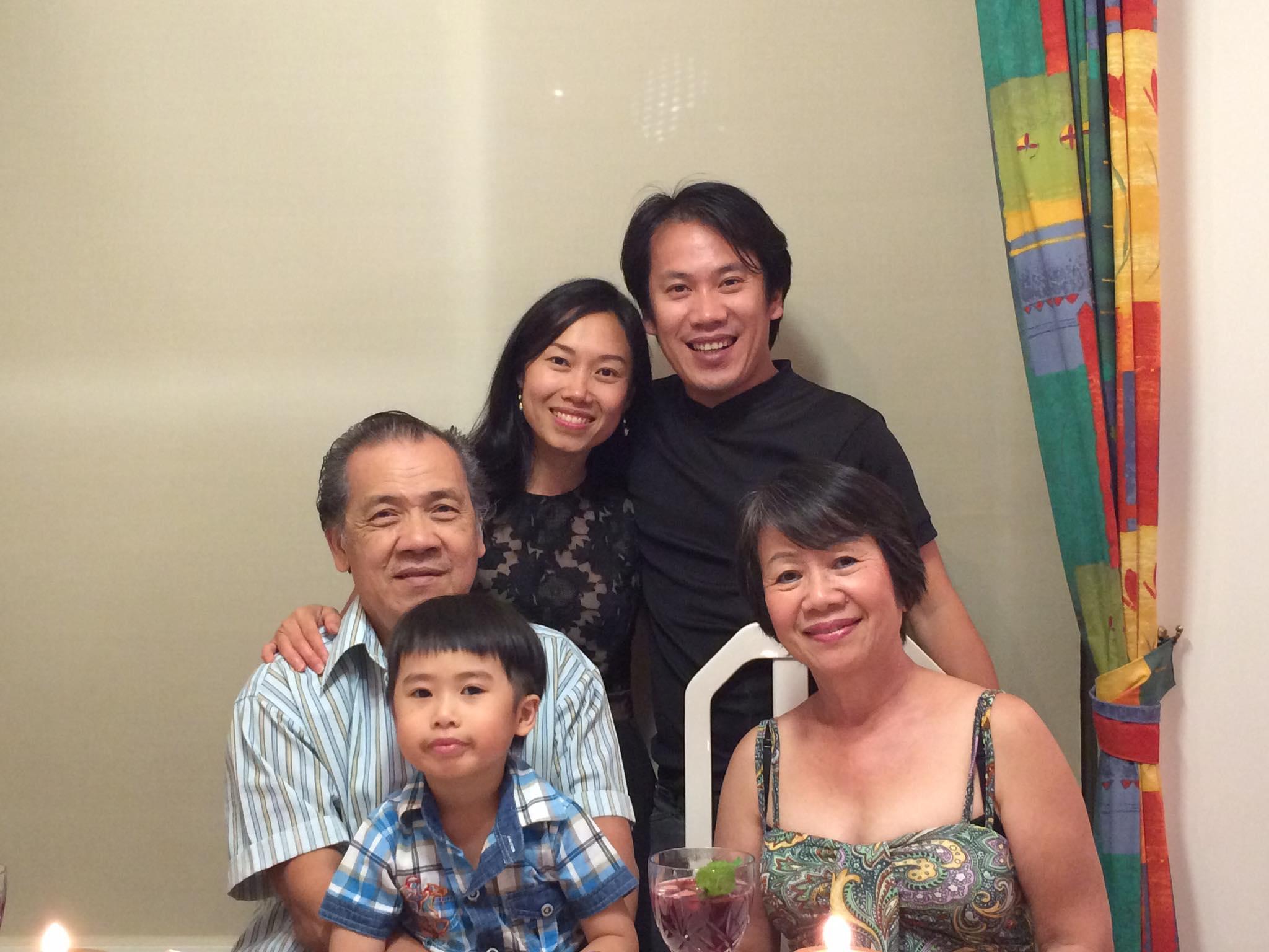 My family in Australia