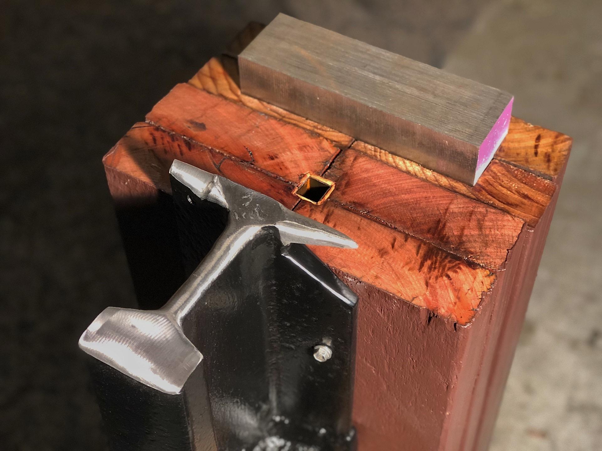 My rail anvil