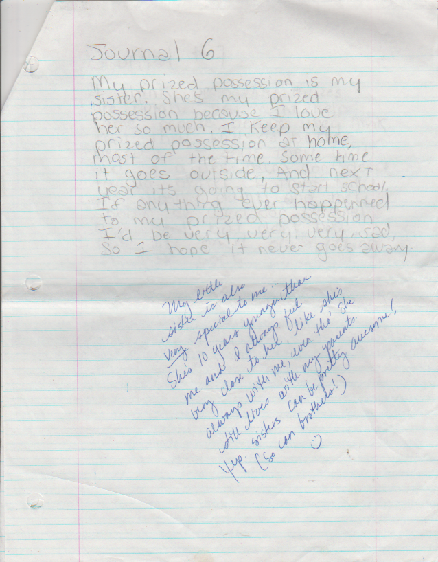 1995-05-04 - Thursday - 7 journal entries, period 8, Katie Arnold in May-4.png