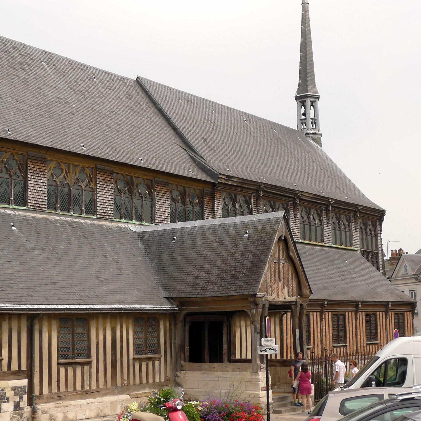 Honfleur France cathedral wood.jpeg
