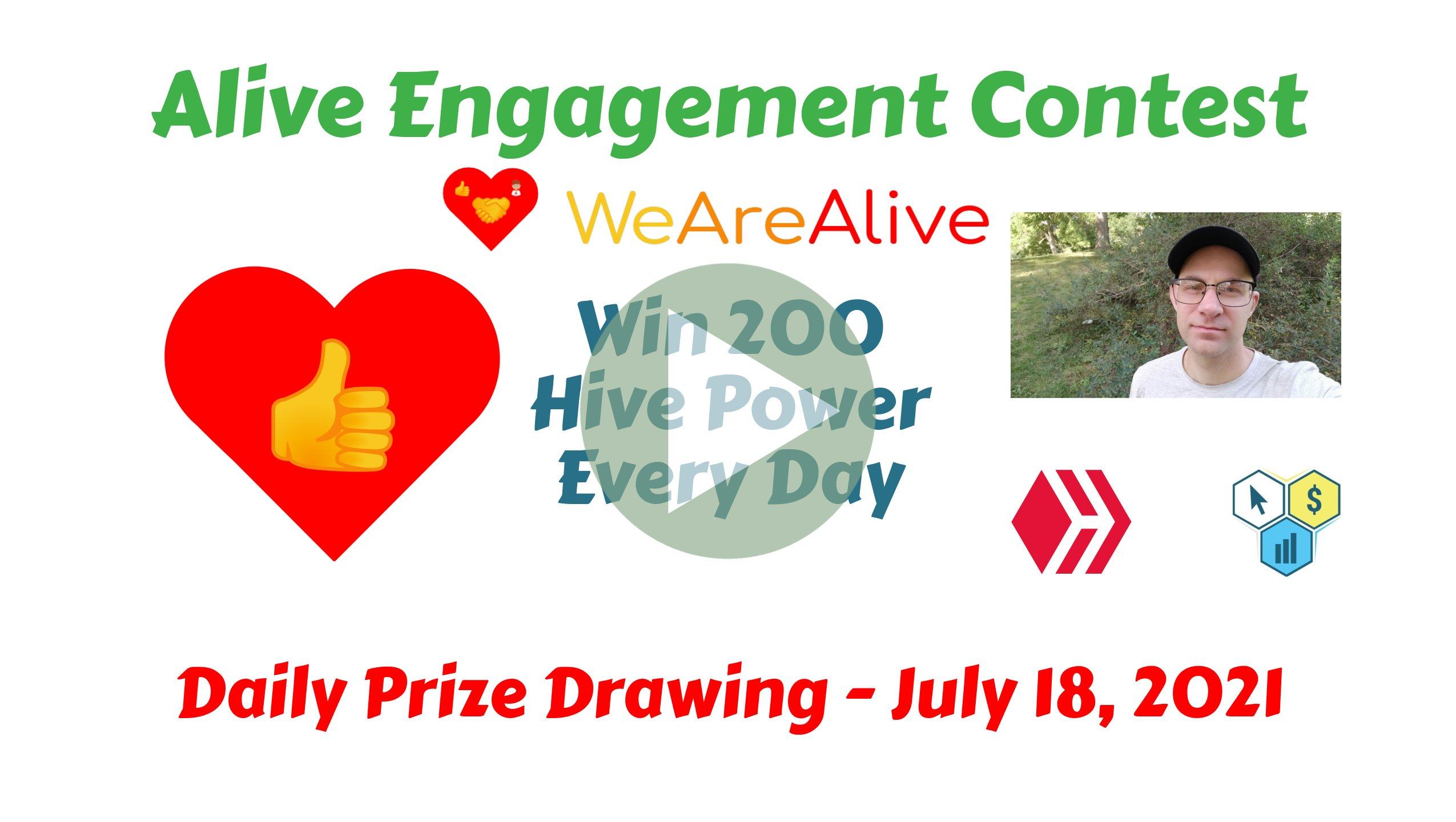 Alive Engagement Contest Video