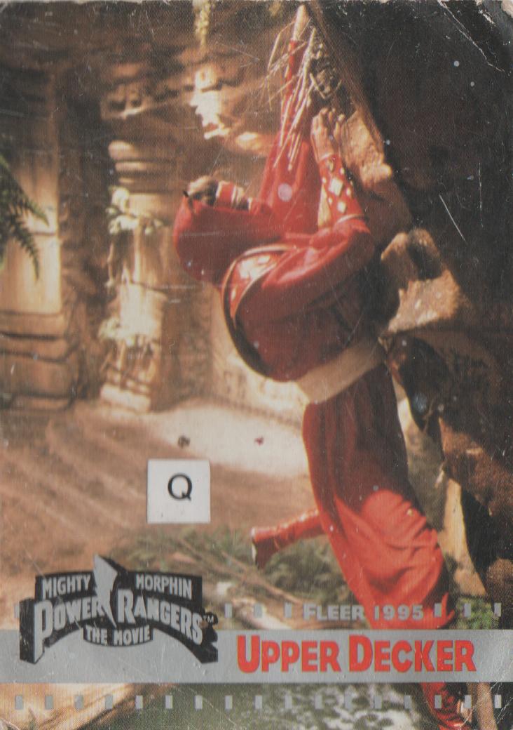 1995 - Power Rangers The Movie - Red Ninja - number 114 - Upper Decker - Rocky-1.png