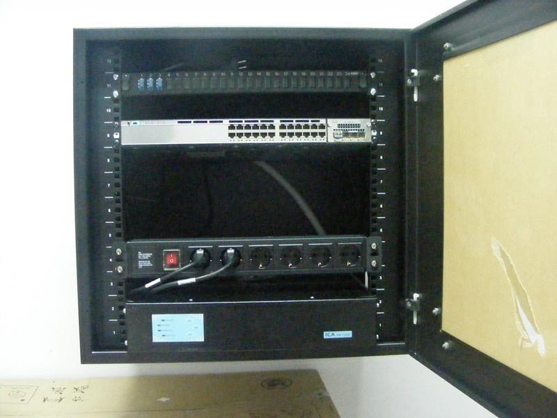 Switch C3750e di masing-masing gedung