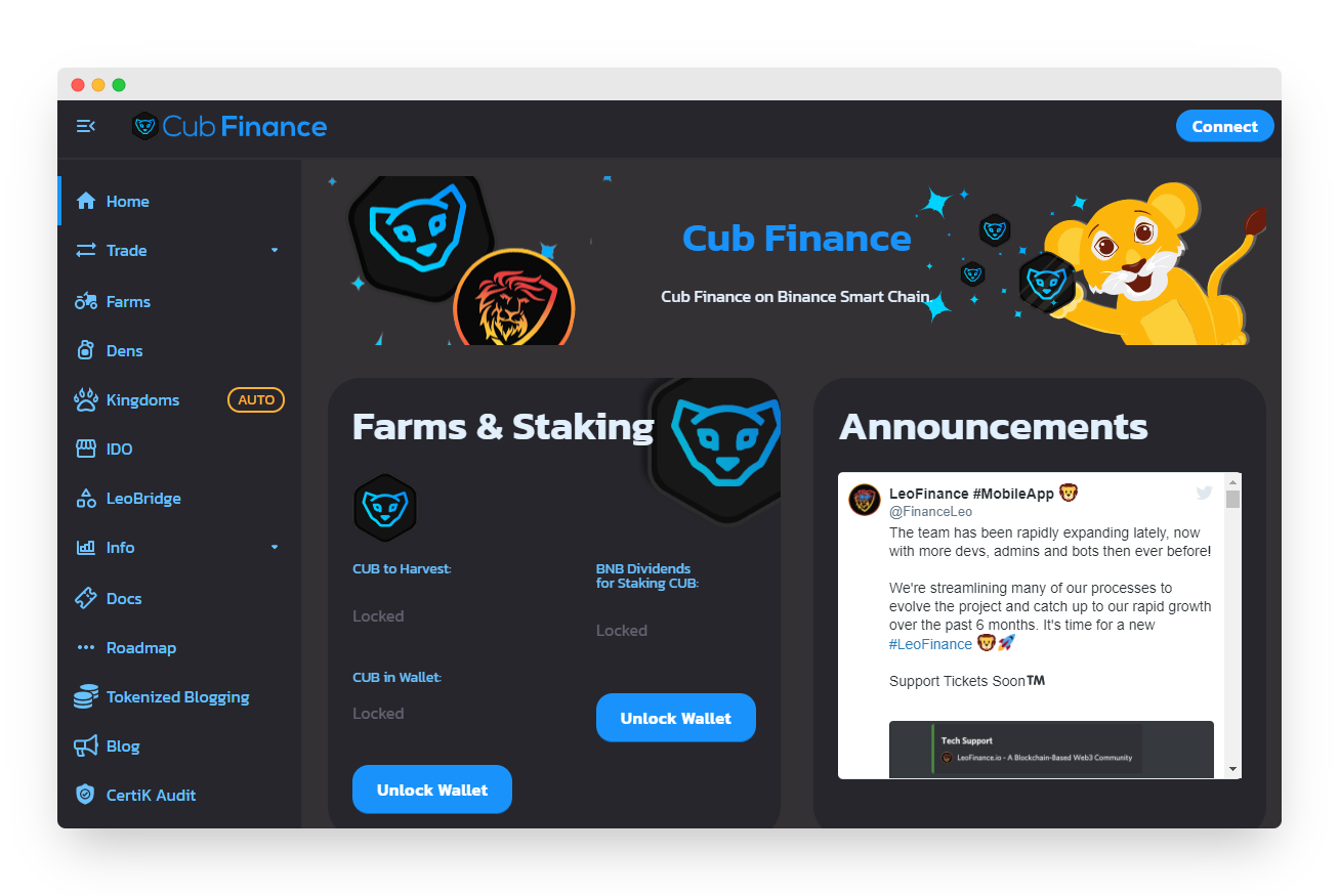 Connect to BSC in Metamask.