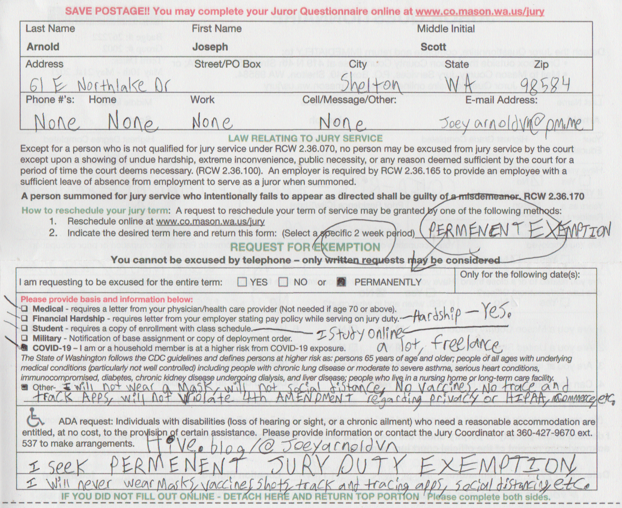 2021-04-11 - Sunday - 05:30 PM LMS - Jury Duty Permanent Exemption, 2nd time requested, 1st time in 2020, maybe not permanent exemption requested last time-2.png