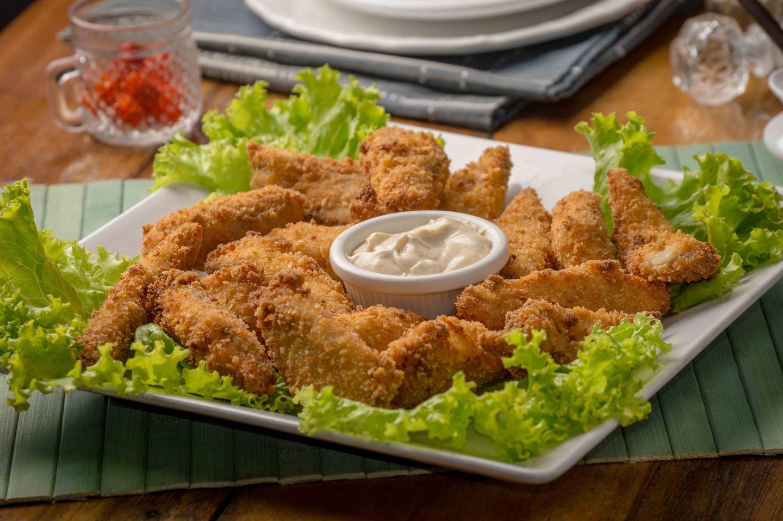 Real chicken nuggets via Unsplash
