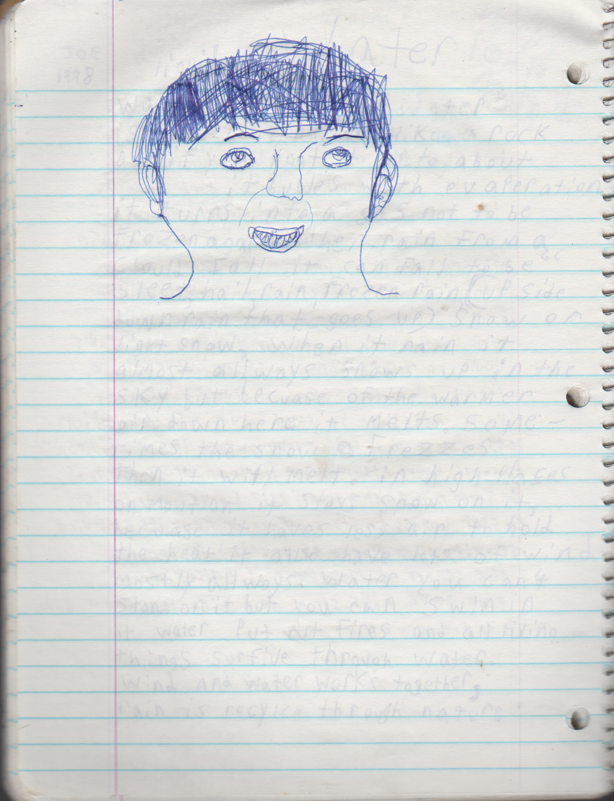 1996-08-18 - Saturday - 11 yr old Joey Arnold's School Book, dates through to 1998 apx, mostly 96, Writings, Drawings, Etc-063.png