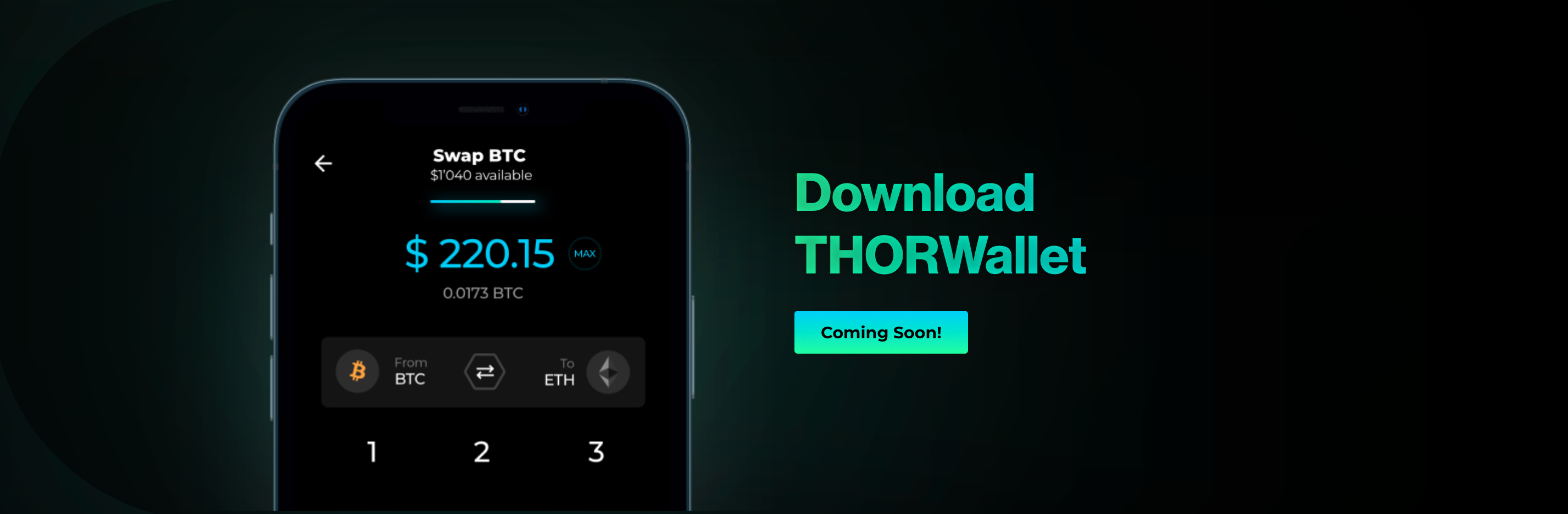 Coming soon - THORWallet THORChain wallet.