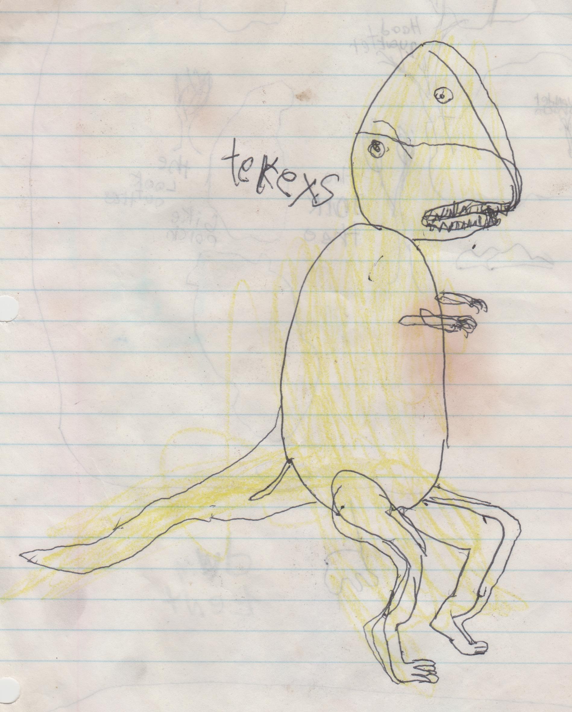 1995 maybe - T-rex.jpg