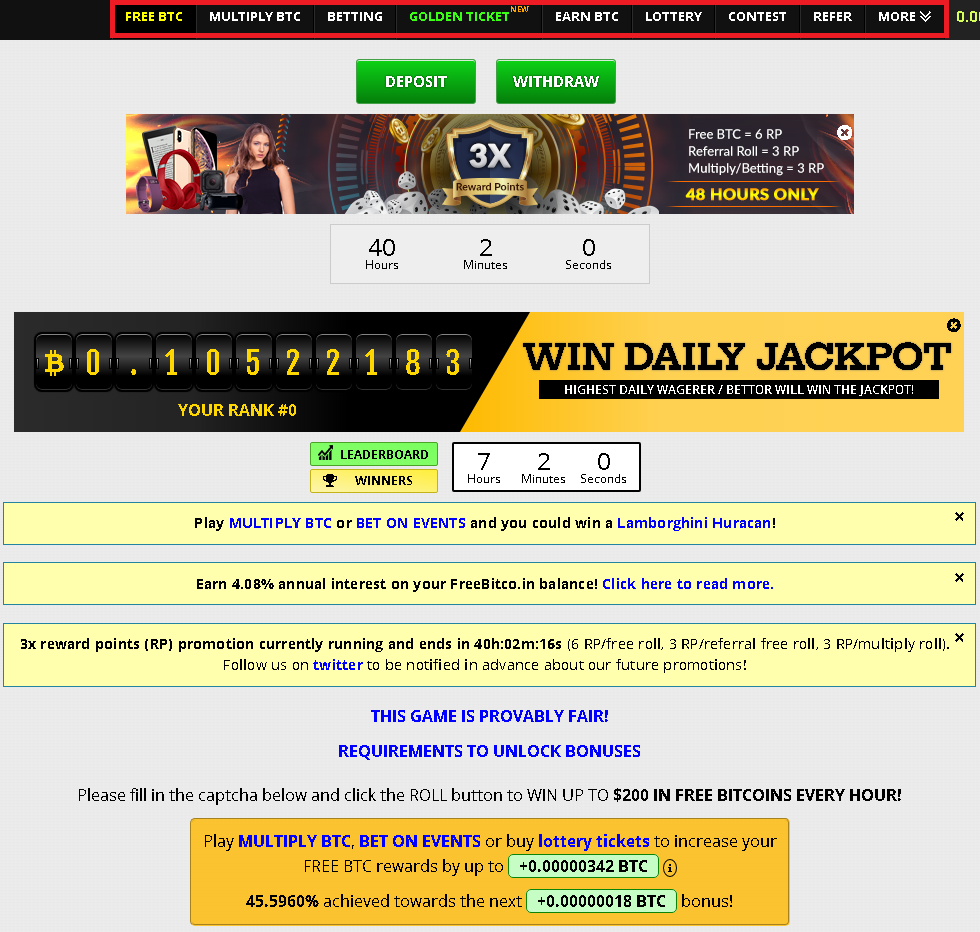 20201010 20_58_00FreeBitco.in  Bitcoin, Bitcoin Price, Free Bitcoin Wallet, Faucet, Lottery and .png