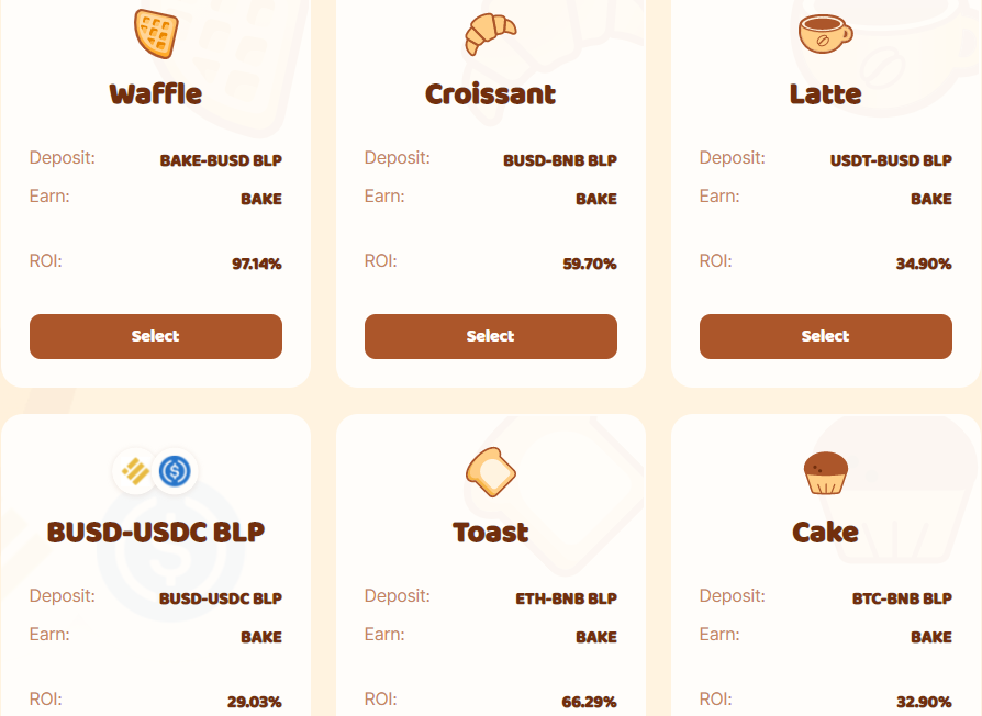 Stable Coin Bakery Swap