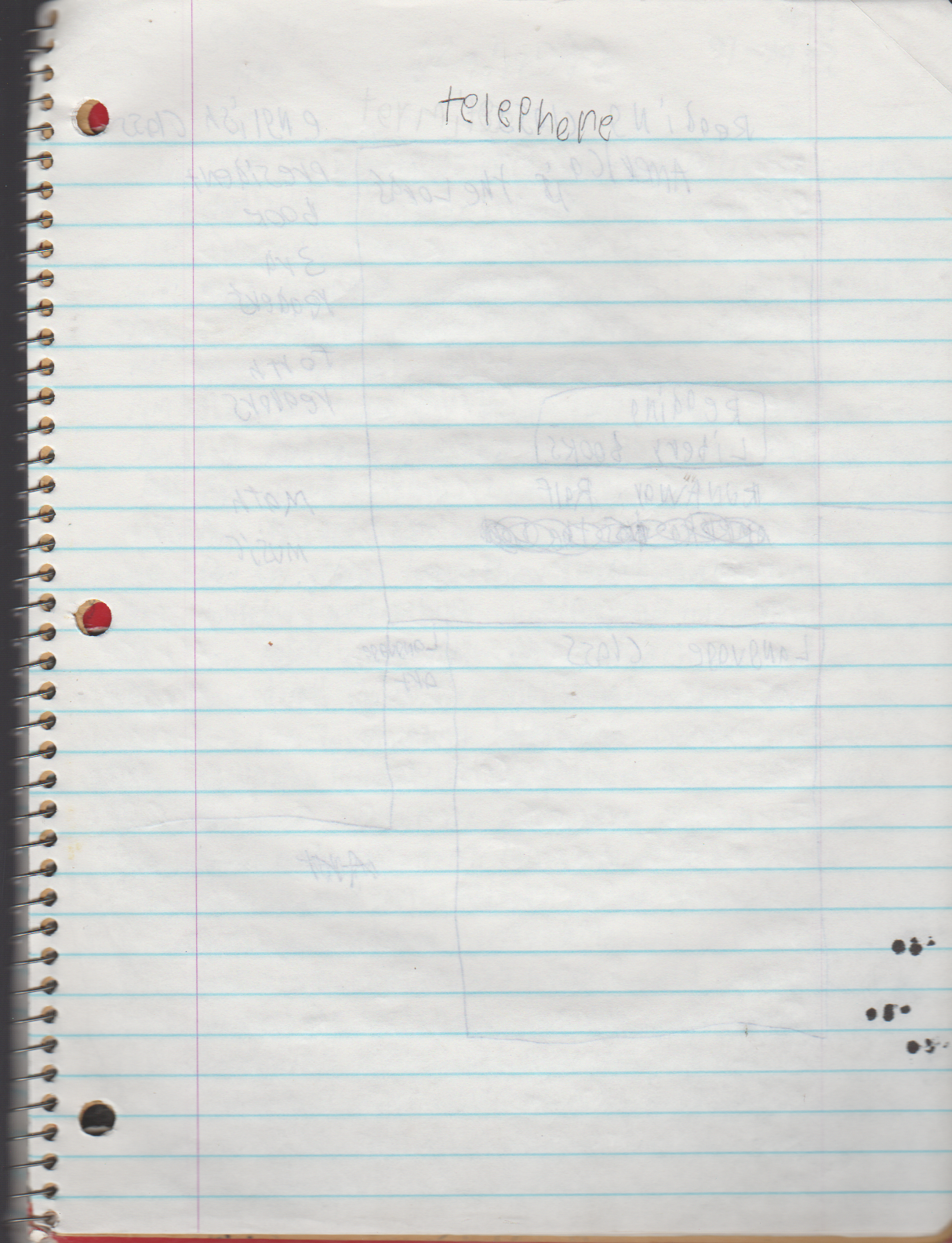 1996-08-18 - Saturday - 11 yr old Joey Arnold's School Book, dates through to 1998 apx, mostly 96, Writings, Drawings, Etc-098.png