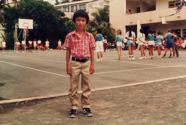 Me in primary school