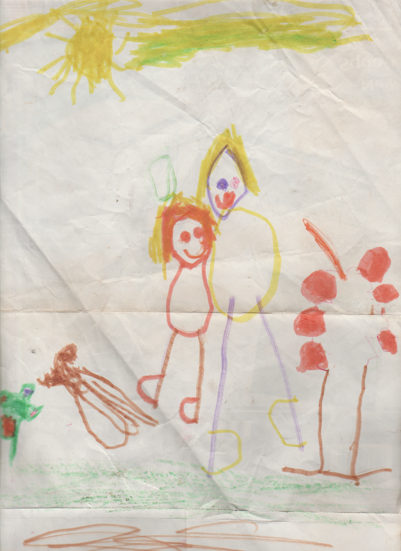 1986-12-06 - Saturday - Family drawing, by 6 yrs old Alan Williams-1.png