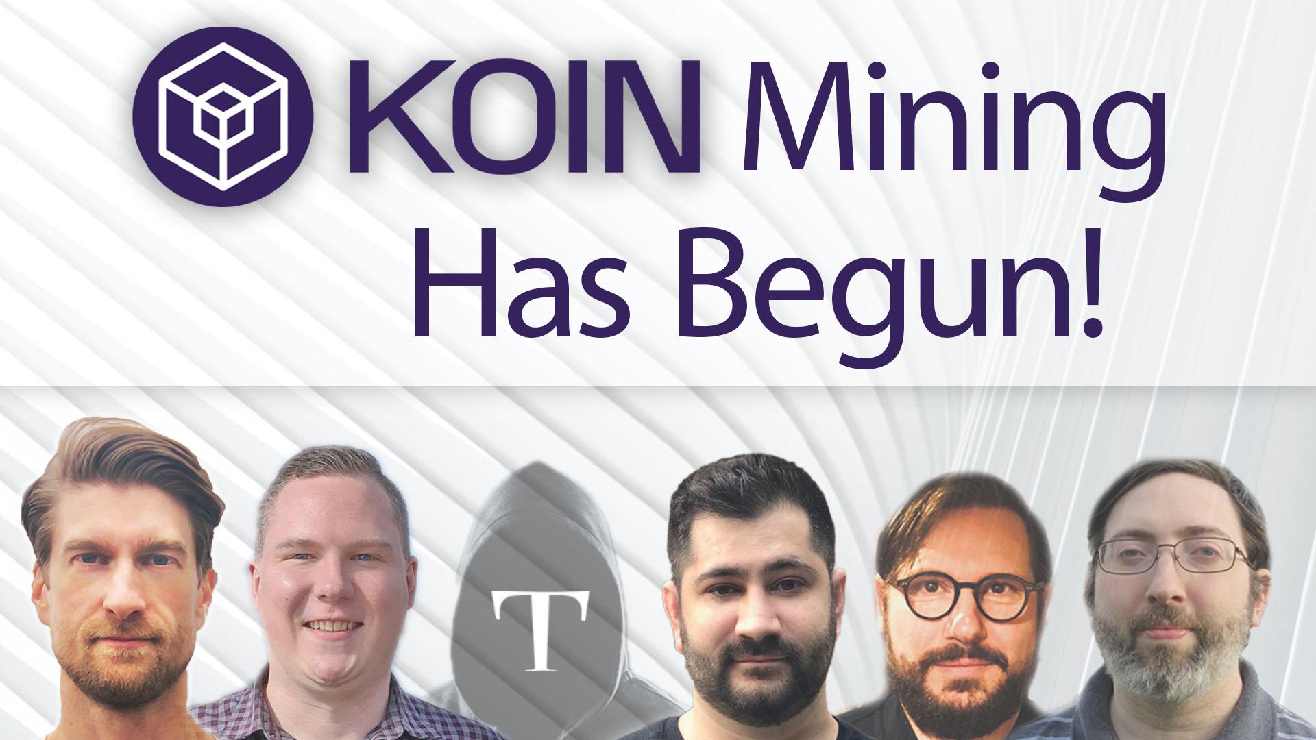 KOIN mining has begun.jpg