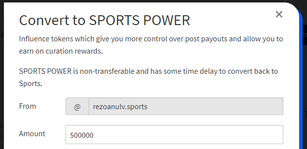 Staking 500,000 SPORTS Tokens Today.PNG