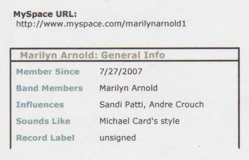 2007-07-27 - Myspace - joined - Marilyn.jpg