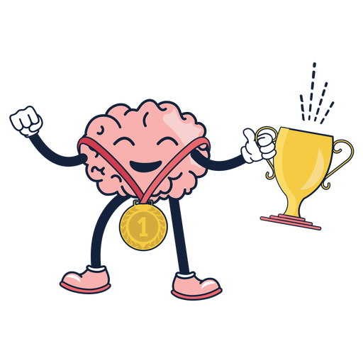 4520326bc3b444f6b3dd49b92b67fab5-dibujos-animados-lindo-cerebro-ganador-by-vexels.png