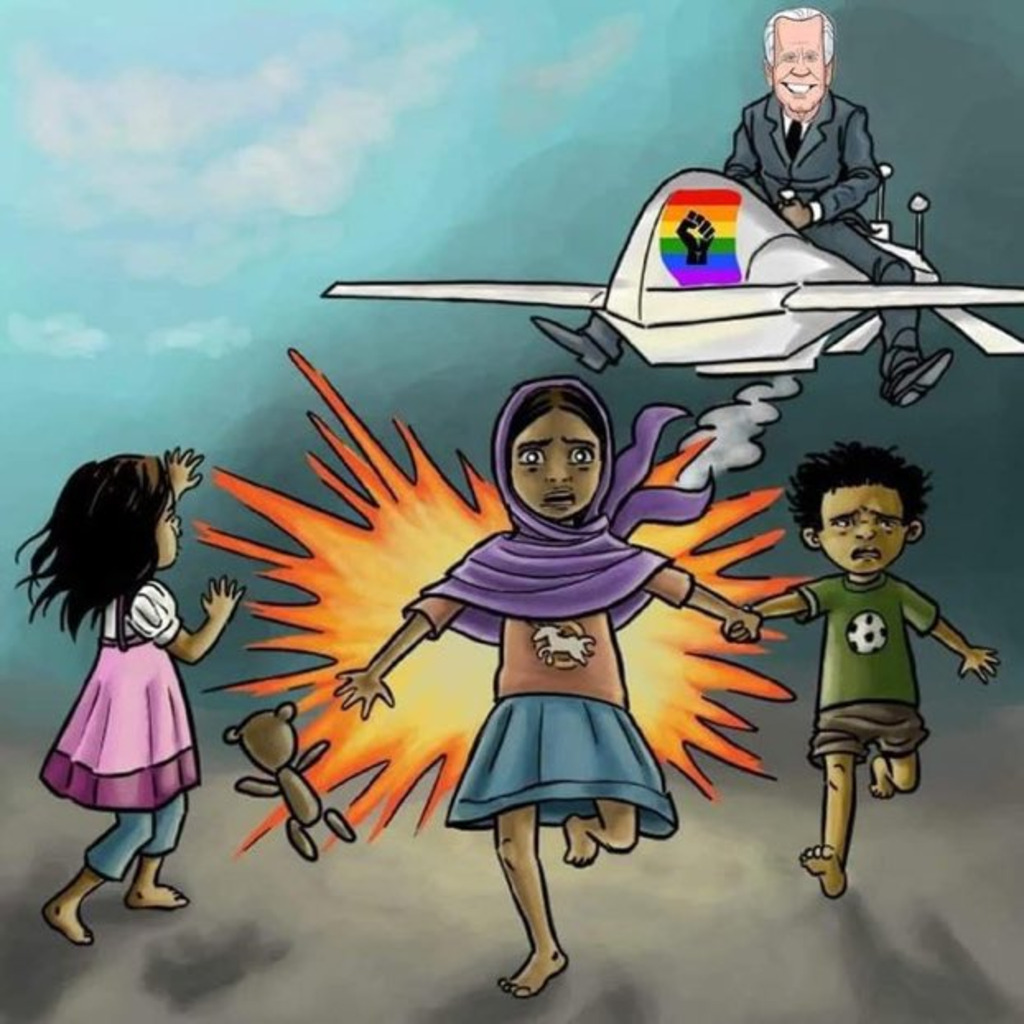 Captain Biden Flying Around Zapping Brown Kids.jpeg
