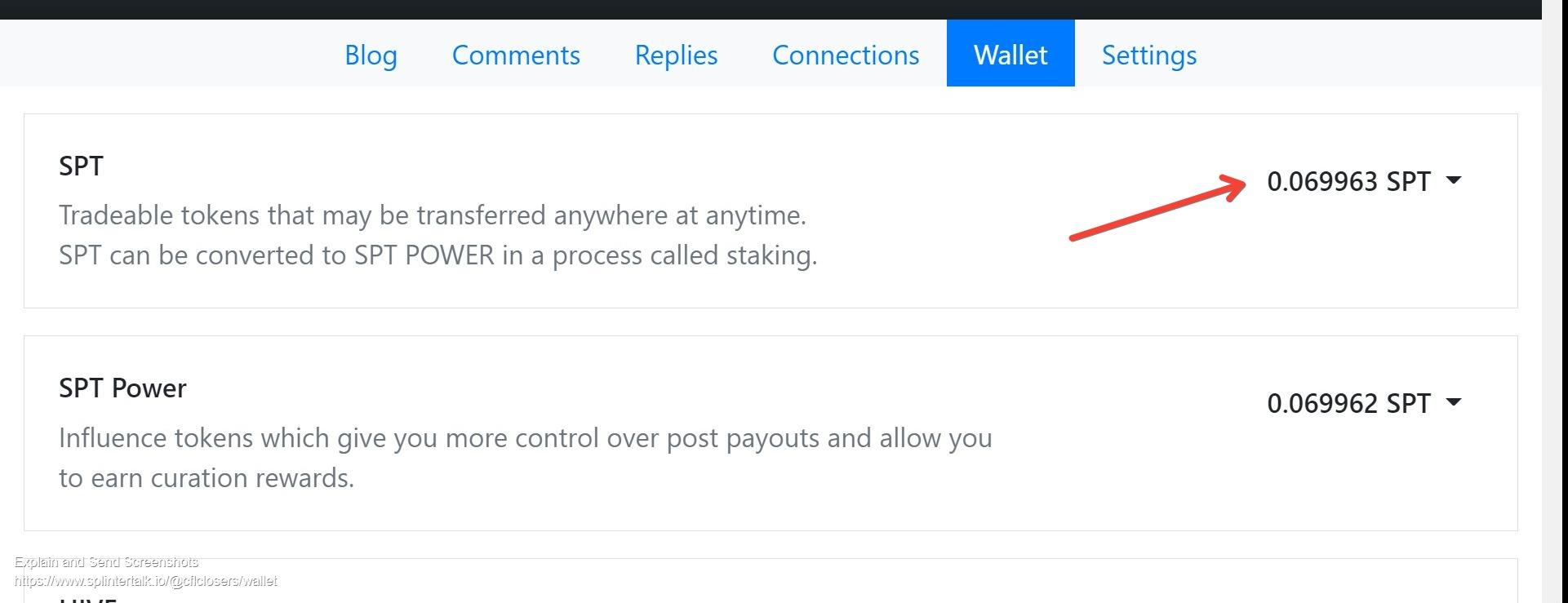 Screenshot of Wallet of Cflclosers cflclosers  Splintertalk.jpg
