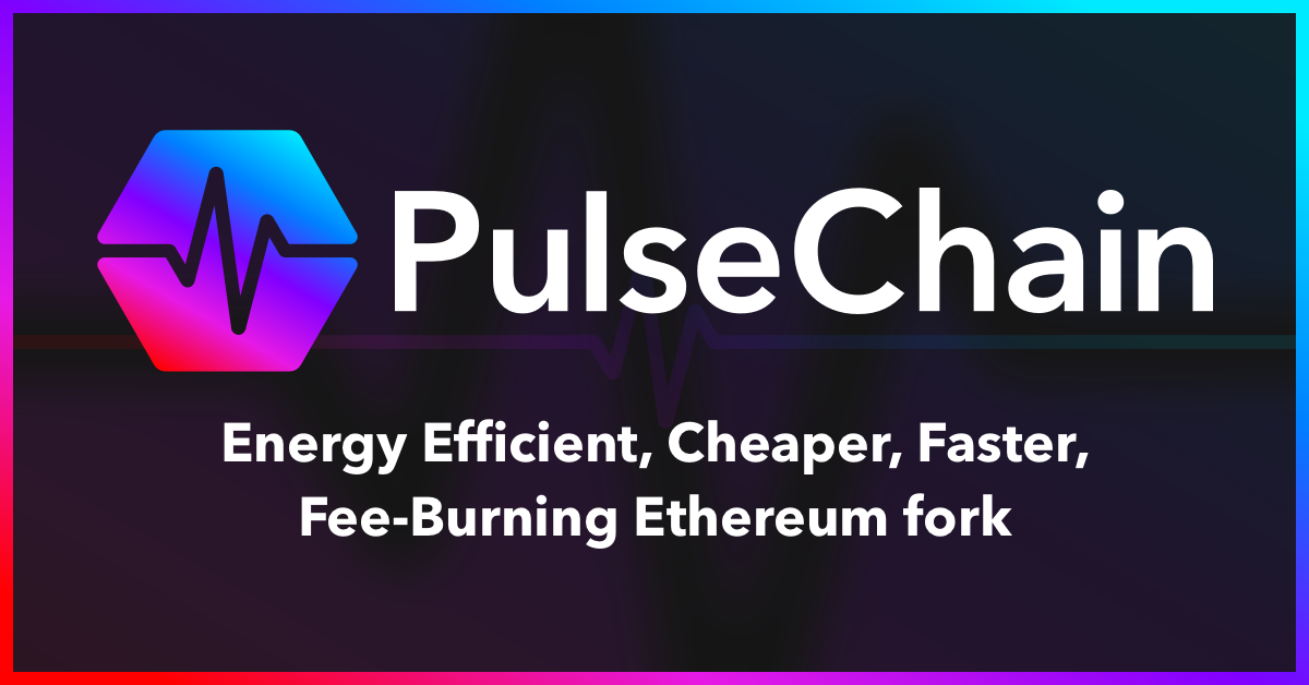 The introduction to PulseChain (PLS) banner with logo.