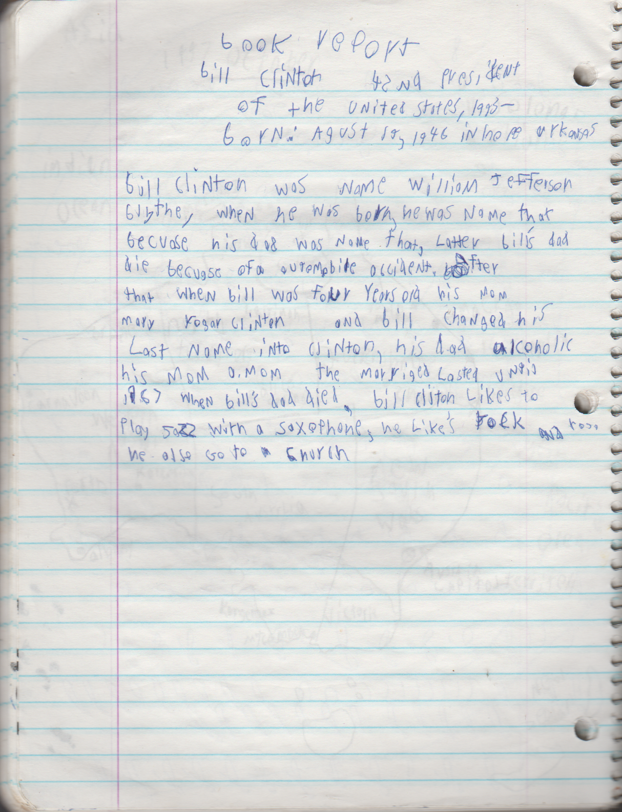 1996-08-18 - Saturday - 11 yr old Joey Arnold's School Book, dates through to 1998 apx, mostly 96, Writings, Drawings, Etc-097.png