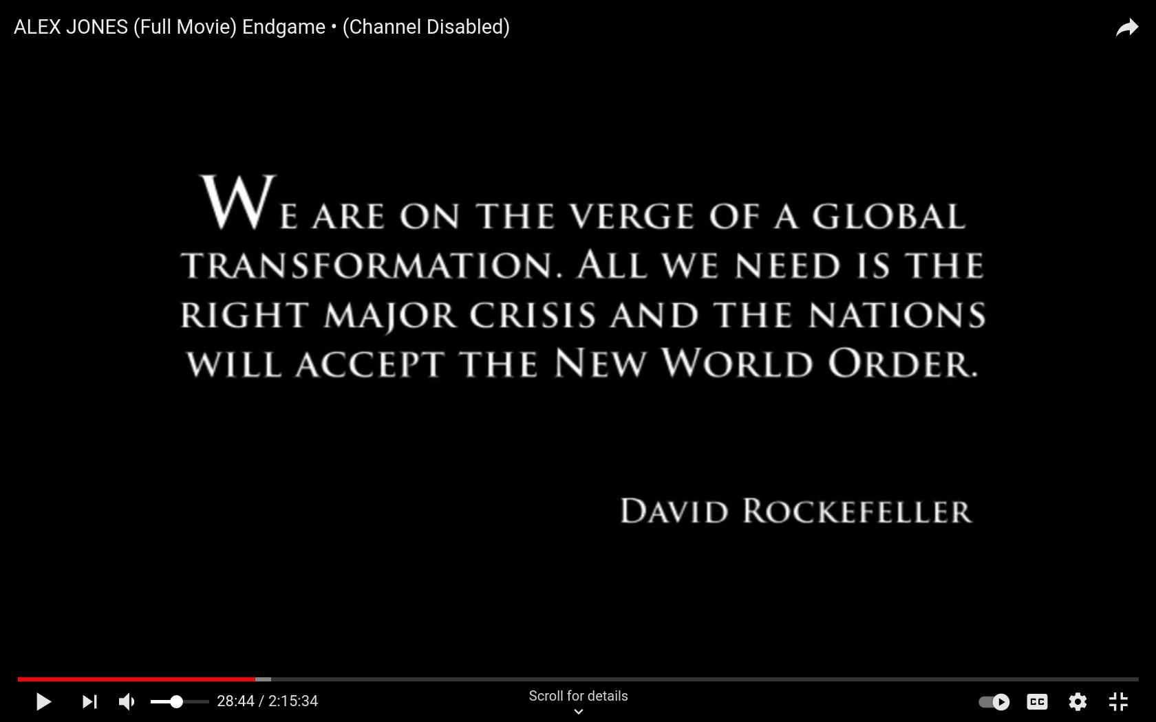 Screenshot at 2020-12-25 01:18:11 New World Order Needs the Right Crisis or PANDEMIC to Begin says David Rockefeller.png