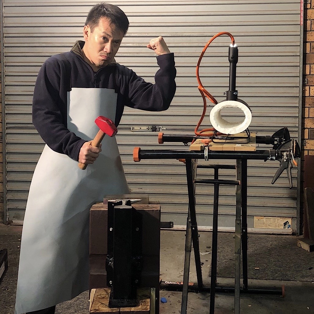 Quoc Huy and his forge