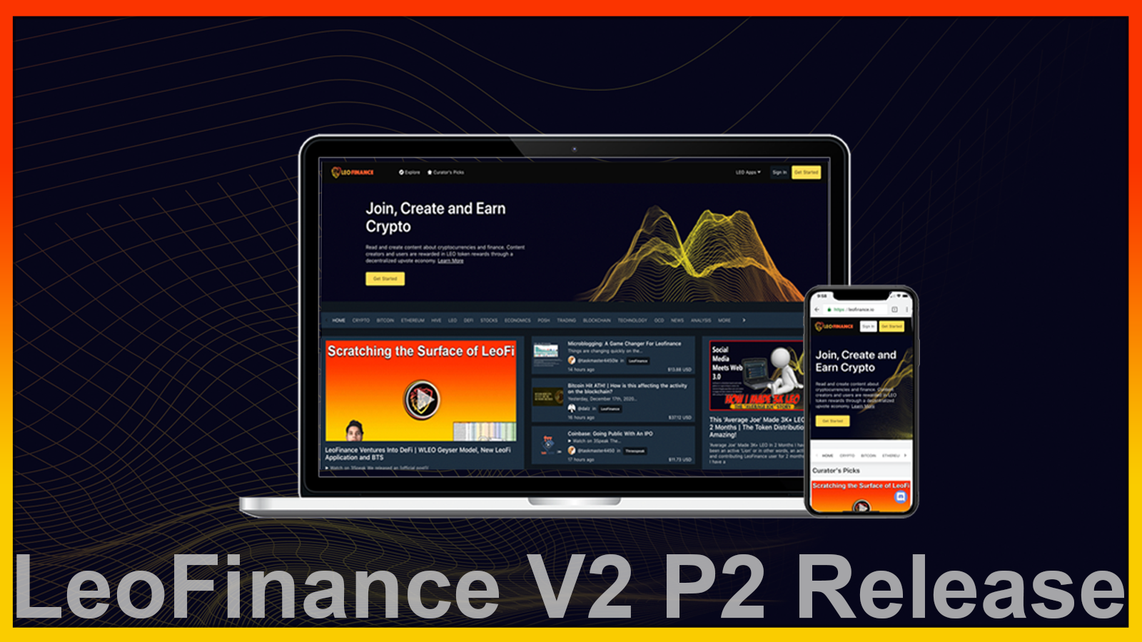 LeoFinance.io V2 P2 Release Notes  Development Update.png