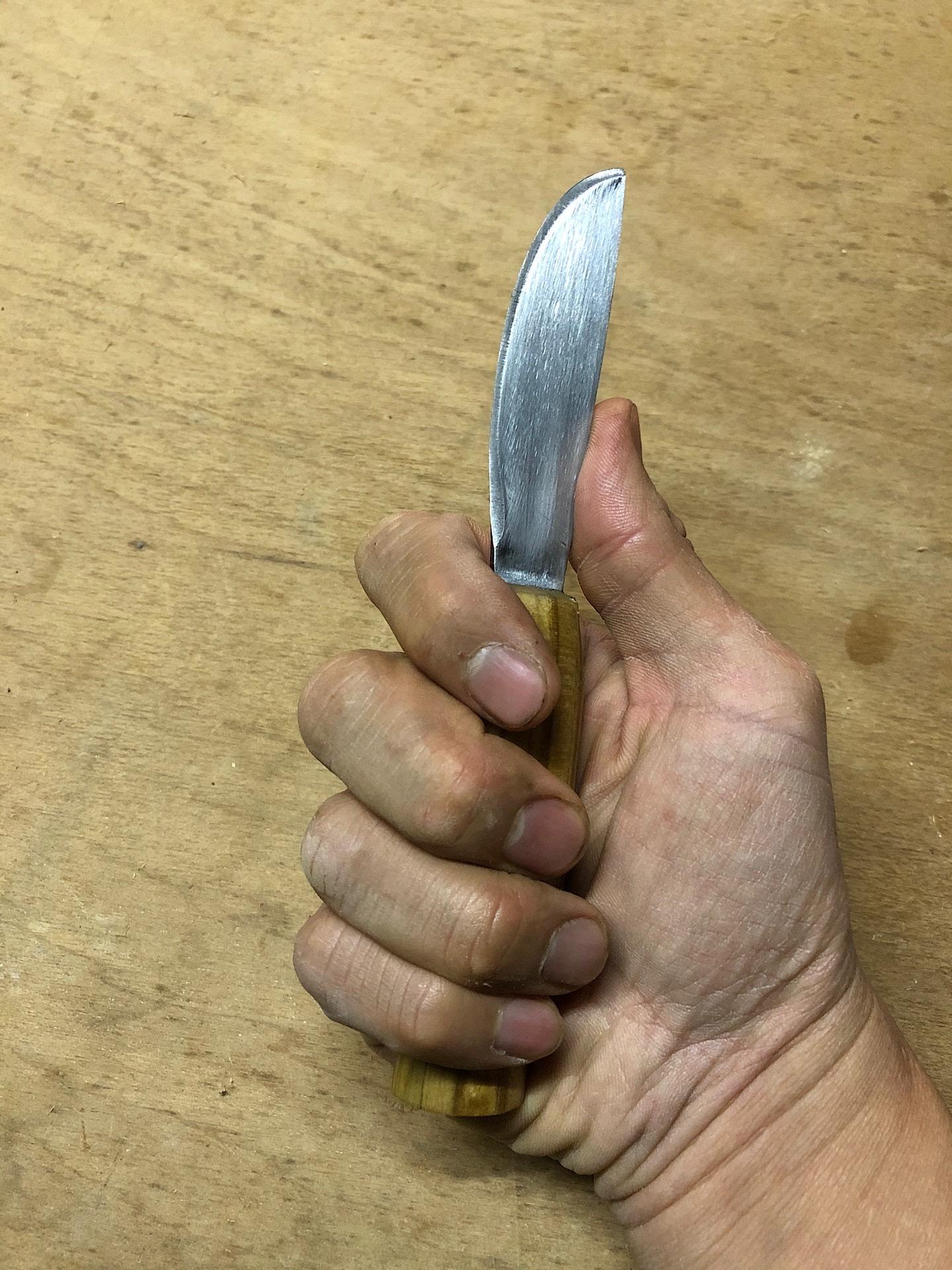 My butter knife bushcraft knife