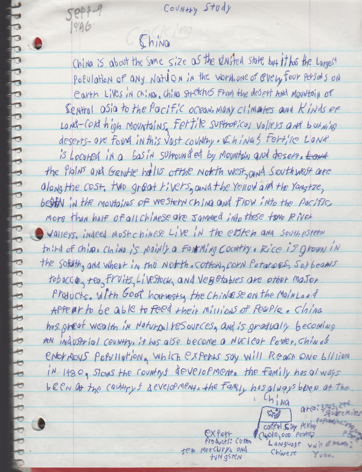 1996-08-18 - Saturday - 11 yr old Joey Arnold's School Book, dates through to 1998 apx, mostly 96, Writings, Drawings, Etc-068.png
