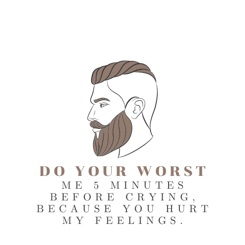 Minimalistic black logo for barber shop with the face of a man .png