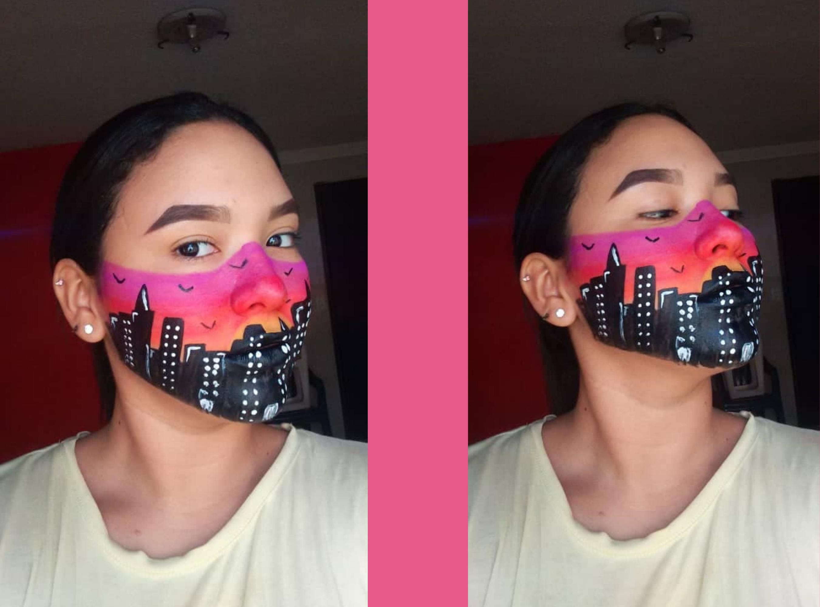 Maquillaje Artístico Inspirado en un Atrdecer en la Ciudad (3).png
