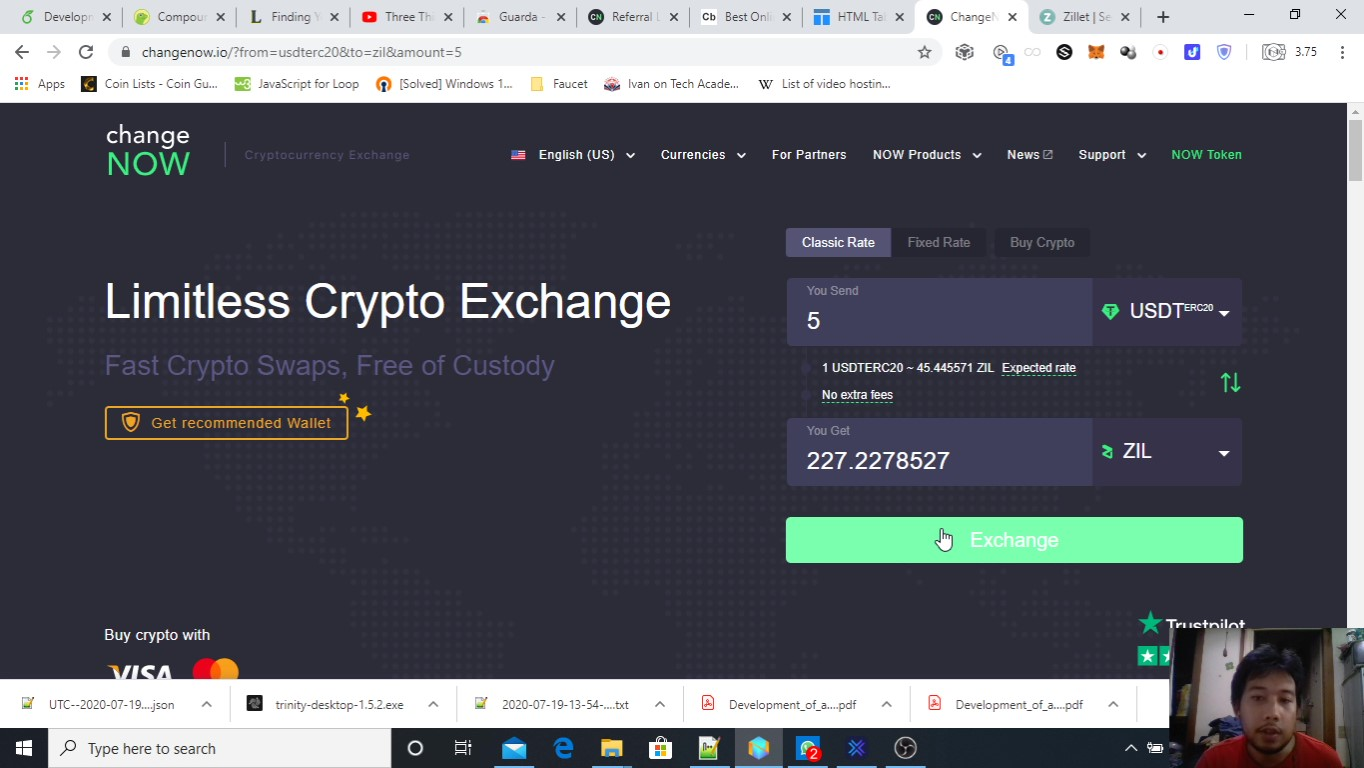 ChangeNOW 2 Go To Any Interface and Exchange.jpg