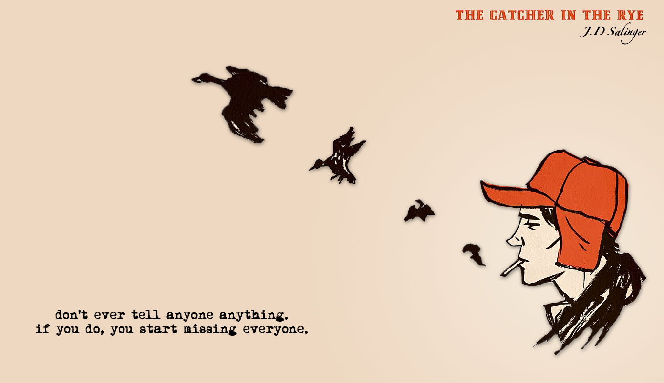 Literature - The Catcher In The Rye Wallpaper.png