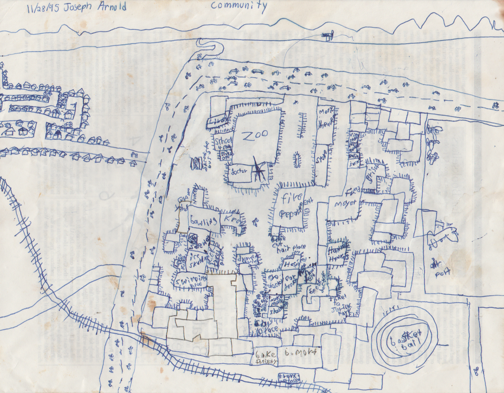 1995-11-28 - Tuesday - SIM City Drawing, by 8 yr old Joey Arnold-1.png