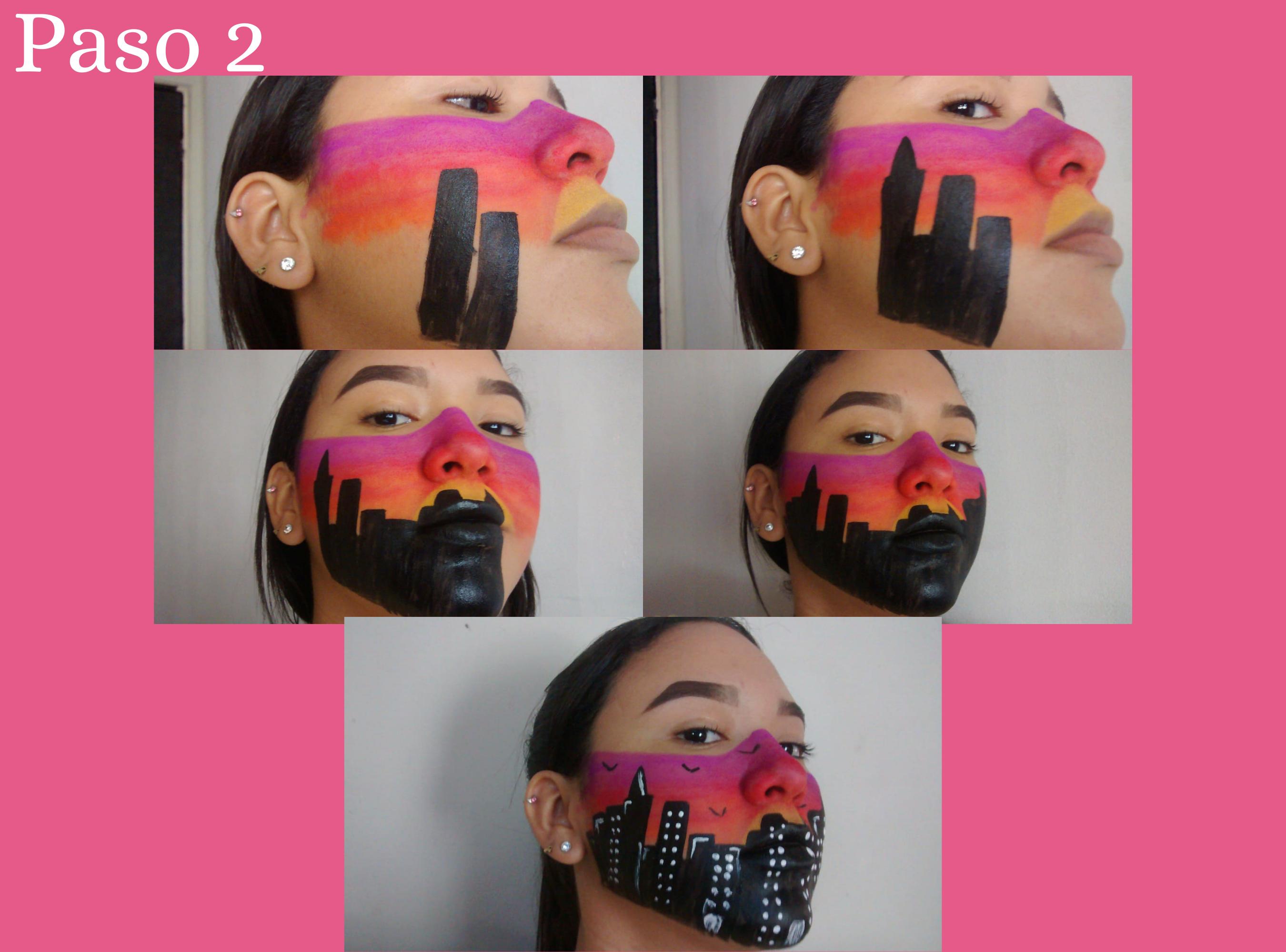 Maquillaje Artístico Inspirado en un Atrdecer en la Ciudad (2).png