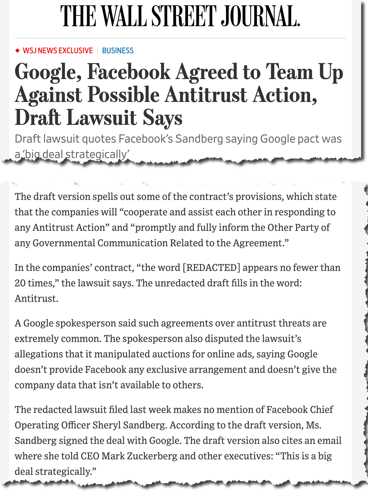 WSJ on Texas Google.png
